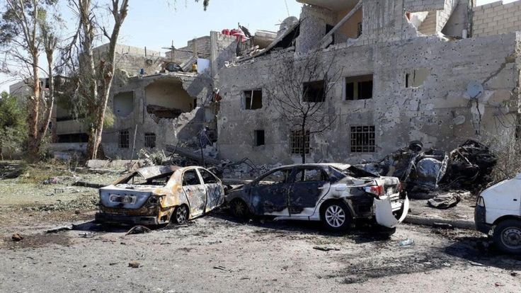 Syria conflict: Suicide car bomb chase in Damascus http://ift.tt/2sApqXl read more:http://ift.tt/2sAAwvt