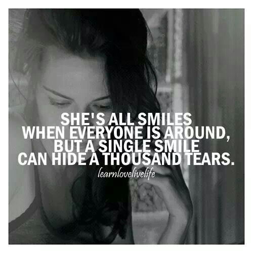quotations on smile and tears - photo #23