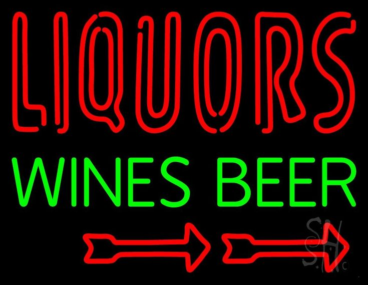 Liquors Wines Beer Neon Sign 24 Tall x 31 Wide x 3 Deep, is 100% Handcrafted with Real Glass Tube Neon Sign. !!! Made in USA !!!  Colors on the sign are Green and Red. Liquors Wines Beer Neon Sign is high impact, eye catching, real glass tube neon sign. This characteristic glow can attract customers like nothing else, virtually burning your identity into the minds of potential and future customers. Liquors Wines Beer Neon Sign can be left on 24 hours a day, seven days a week, 365 days a year