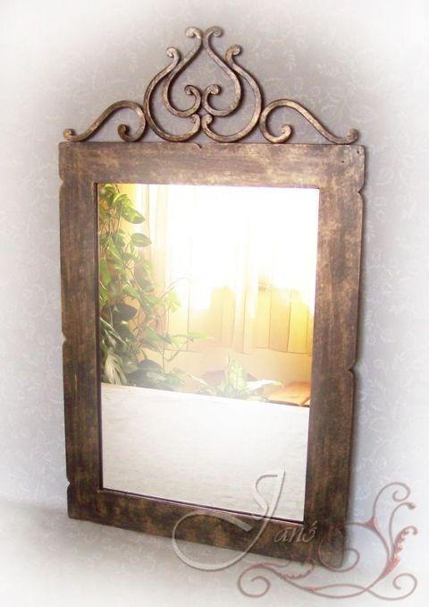 SzJano terméke. Tulipán fali tükör.
