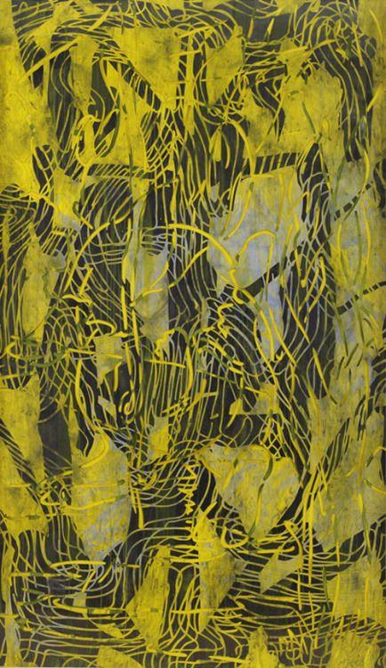 Arturo Herrera Mount. 2008 Collage, mixed media on paper 86.81 x 50.39 inches 220.5 x 128 cm VIA MORE