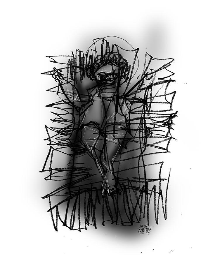 """""""Mi pesebre y mi portal"""" Por Hugo Seleme -Ilustración digital: @AndresCasciani  * Fragmento del libro """"Bitácora del Naufragio - En la Tormenta Neoliberal"""" (Editorial Brujas, Córdoba - septiembre 2017).  Acá podés leer el texto completo: https://andrescasciani.blogspot.com.ar/2017/12/mi-pesebre-y-mi-portal-por-hugo-seleme.html"""