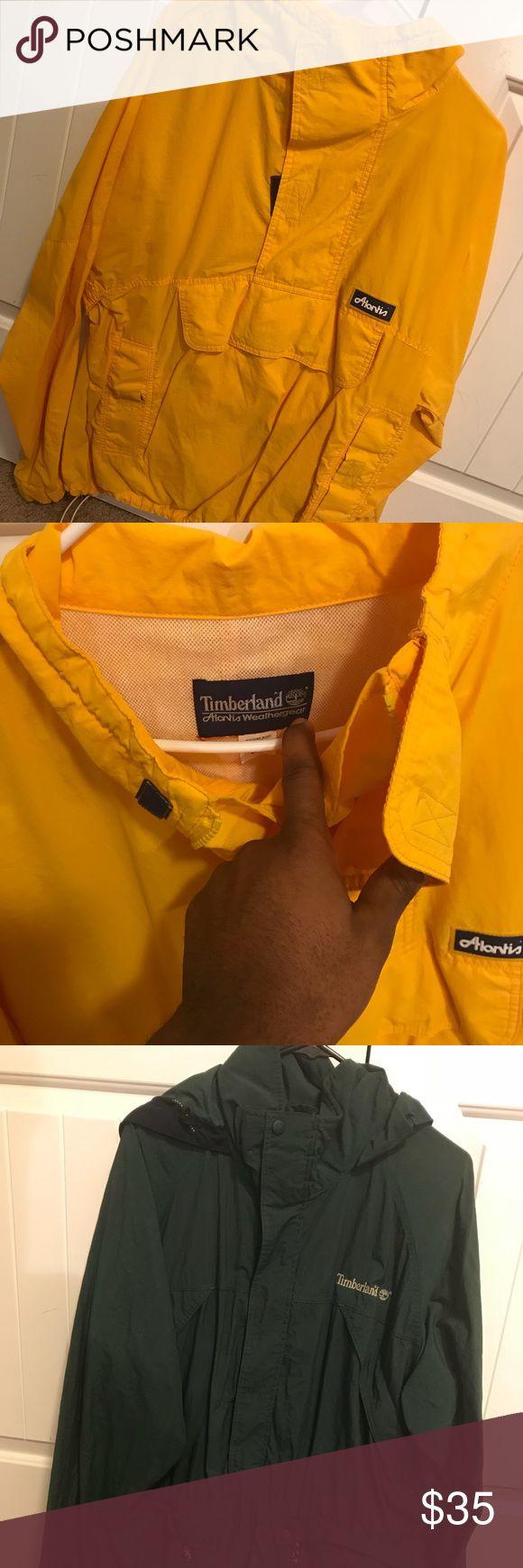 Timberland jackets Both are size Large... good condition! Timberland Jackets & Coats Lightweight & Shirt Jackets
