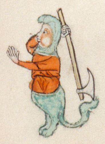 The Gorleston Psalter Date 1310-1324 Add MS 49622 Folio 51r