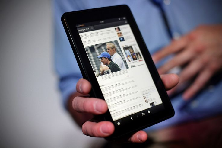 New Stuff- Exclusive photos of Amazon's completely redesigned next-gen Kindle Fire HD