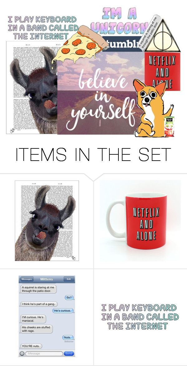 """""""I Made a grouppppppp"""" by the-queen-of-unicorns ❤ liked on Polyvore featuring art"""