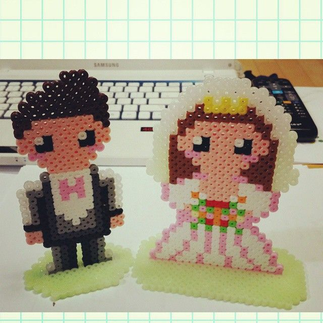 Wedding perler beads by rupina99