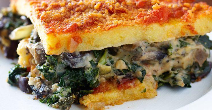 25+ bästa Polenta lasagna idéerna på Pinterest | Polenta