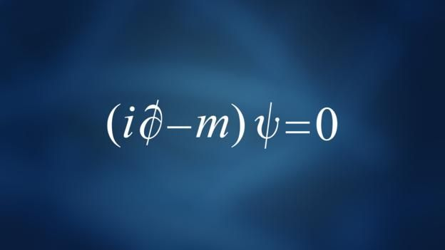 The equation was discovered in the late 1920s by physicist Paul Dirac. It remains highly influential. It brought together two of the most important ideas in science: quantum mechanics, which describes the behaviour of tiny objects; and Einstein's special theory of relativity, which describes the behaviour of fast-moving objects. As a result, Dirac's equation describes how particles like electrons behave when they travel close to the speed of light.