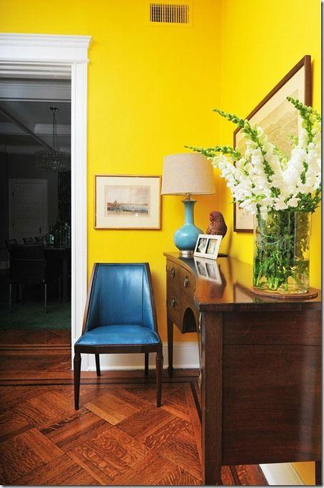 Tydzień żółty: Czy żółta ściana będzie kiedyś modna?