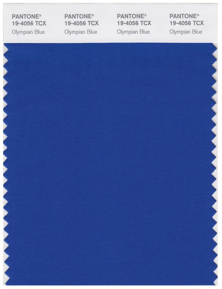 Pantone Smart 194056 TCX Color Swatch Card Olympian