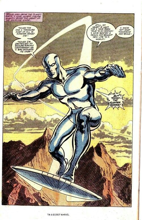 Silver Surfer By John Byrne