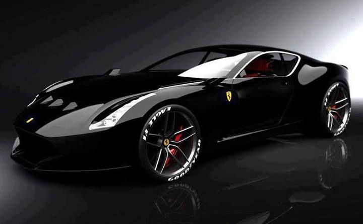 Black Ferrari.