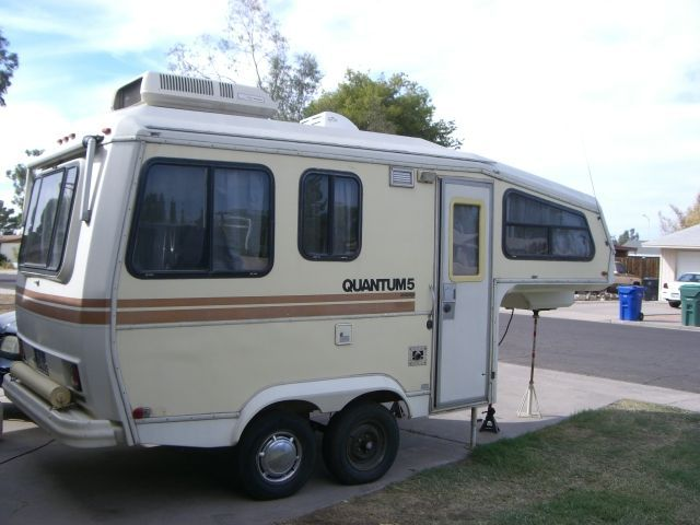 Exceptional Meet A 30 Year Old Small Fifth Wheel Camper Who Goes By Quantum 5