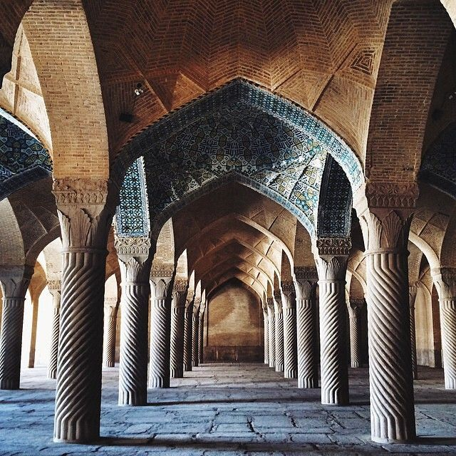 When it comes to mosques, Iran has pretty cool ones. This is Vakil mosque situated at Vakil bazaar.   It was built in 1750s. The photo shows the prayer hall; where the southern part is completely open for light, ventilation and air conditioning purposes.    Photo by: @funkyspion    Hashtag your pictures with #AwesomeIran to be featured.    #VakilMosque #MasjidVakil #Shiraz #Mosque #Architecture #CoolMosque #IslamicArchitecture #PrayHall #Design #Travel #Tour #SightSeeing #MiddleEast #Journey…