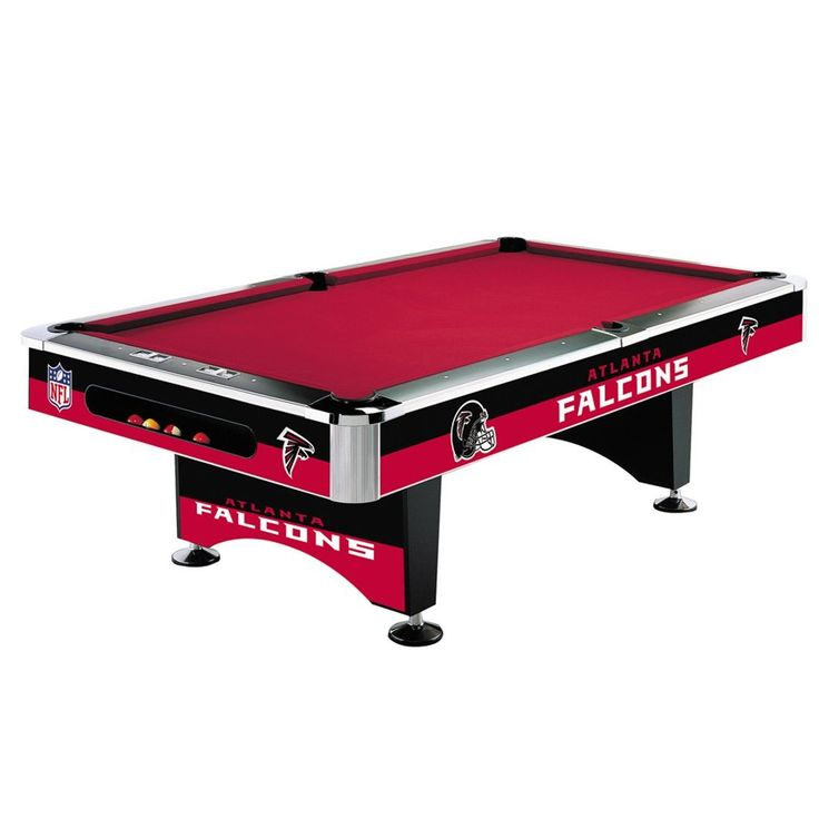 Atlanta Falcons 8Ft Pool Table By Imperial