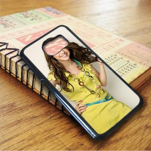 Selena Gomez Hot Smile Singer Idol Star Samsung Galaxy S7 Edge Case