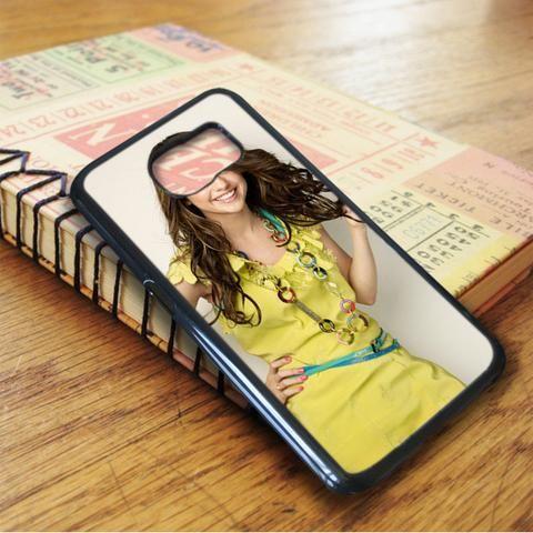Selena Gomez Hot Smile Singer Idol Star Samsung Galaxy S7 Edge Case