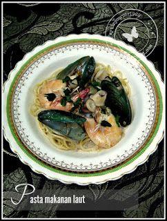 Negeri 9 style Carbonara - mytinycorner: Pasta Makanan Laut