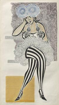 Ramona con medias rayadas (1976) Antonio Berni