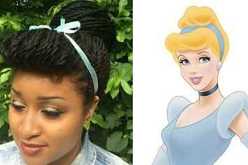 This Student Recreated Disney Princess Hairstyles With Senegalese Twists