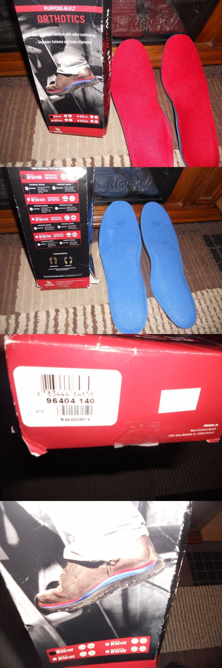 Insoles and Shoe Inserts: Red Wing Shoes Orthotics Insoles Men S Size M14 96404 Rw400 New In Box By Aetrex -> BUY IT NOW ONLY: $34.99 on eBay!