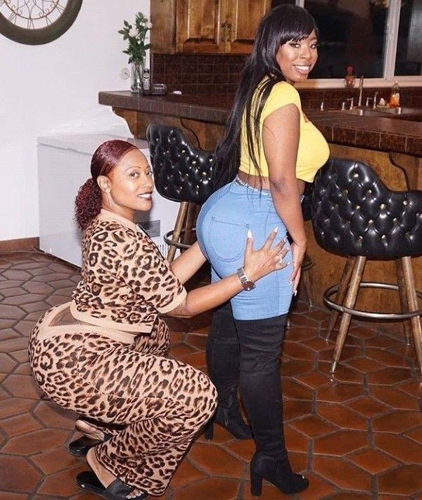Ebony Mom Daughter Share Dick