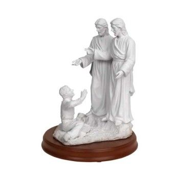 Joseph Smith First Vision Statue -  11 inches (3 personages)