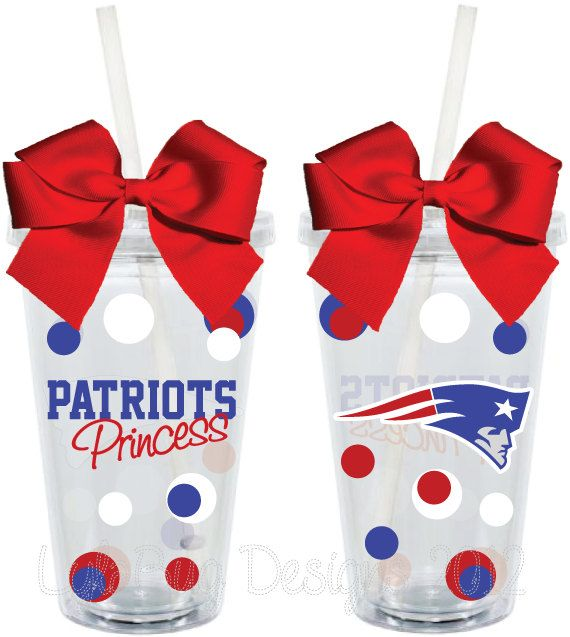 New England Patriots Princess Fan Inspired by LylaBugDesigns, $15.00