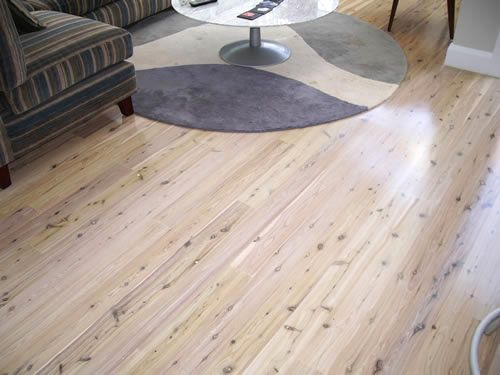 Limed Cypress Pine Floor Boards I Like This Idea To Stop The Yellow Earance Of