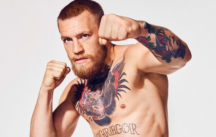 The UFC champ is king of the Octagon—and talking trash
