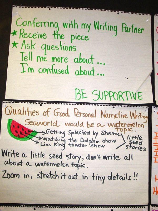 PERSONAL NARRATIVE Writing - Cherish The Small Moments - Watermelon vs Seeds