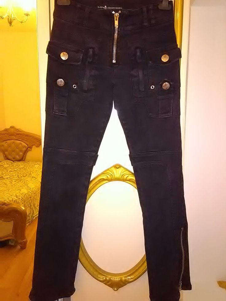 LIP SERVICE Stretch F**k'n Jeans utility jeans #63-90-G