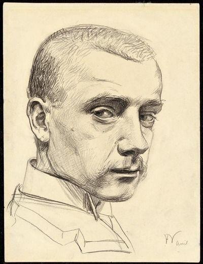Félix Vallotton - Self-portrait, 1890