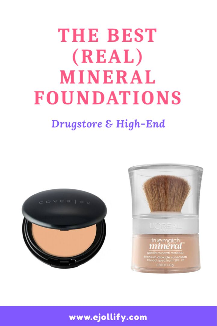 7 Best Mineral Foundations Of 2020 Mineral Powder Foundations In 2020 Mineral Foundation Minerals Makeup Mineral Powder