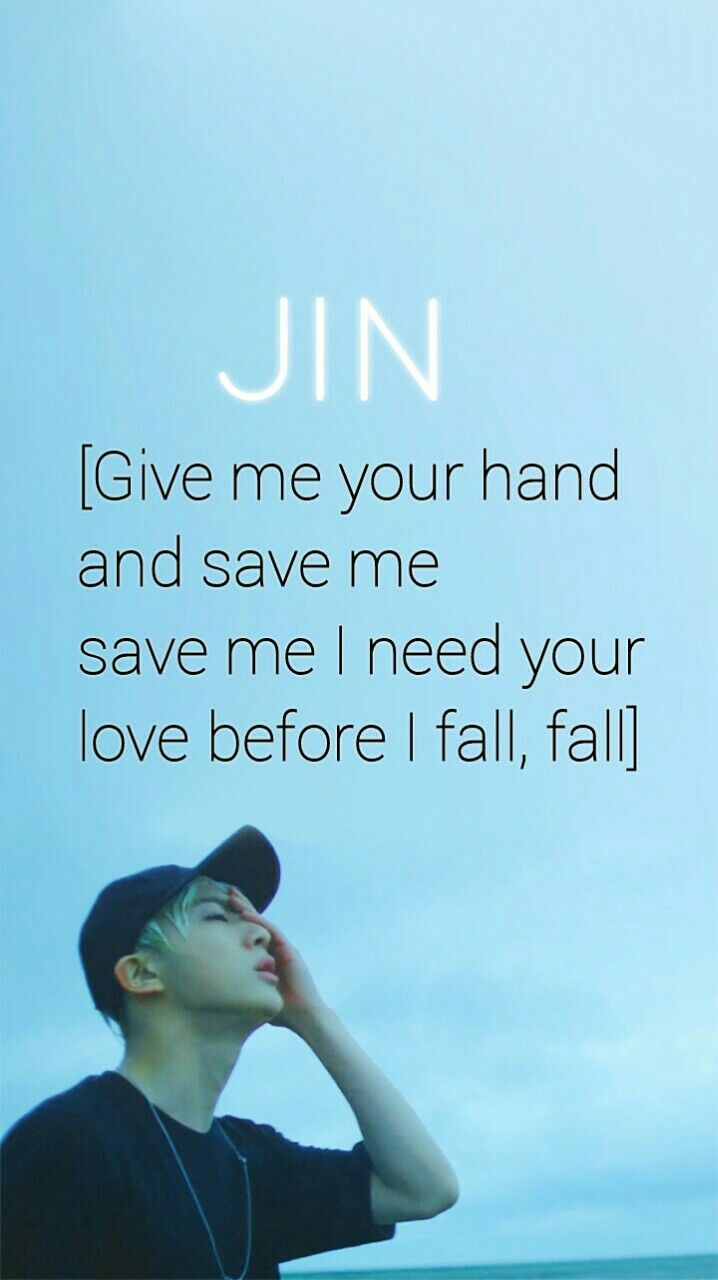 BTS / Jin / Save ME / Wallpaper