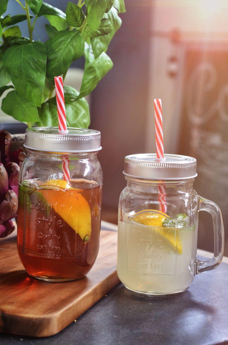 mason jar; perfect for summer picnics <3