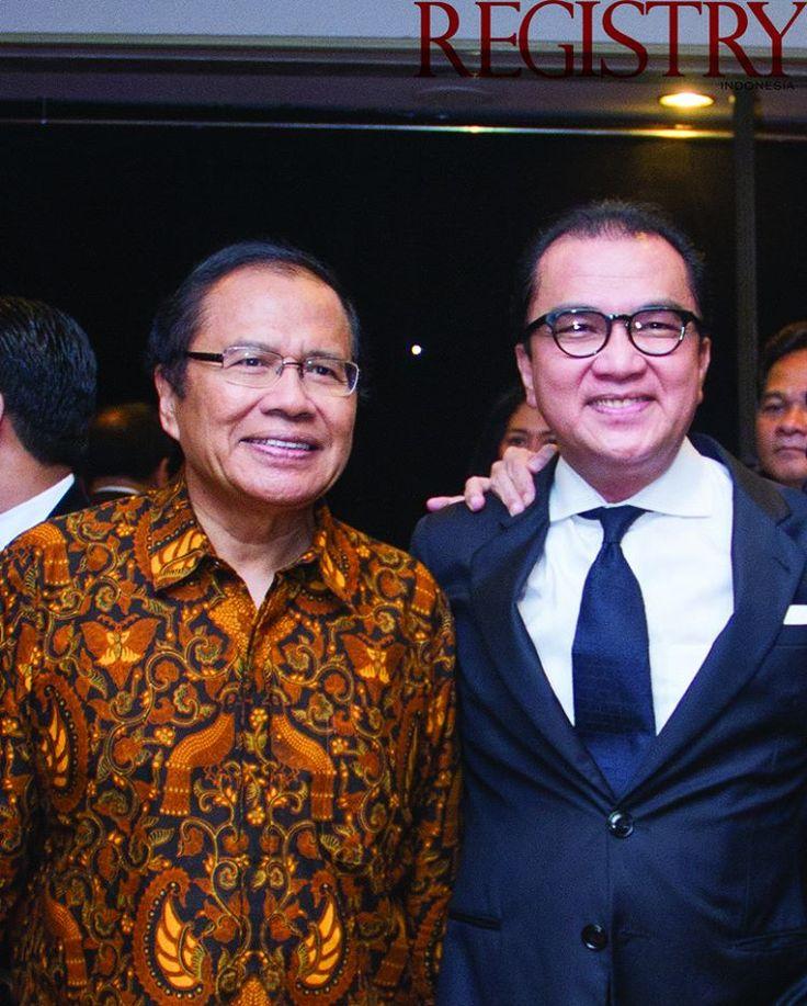 Minister Rizal Ramli & Mr. Tantowi Yahya at @JavaJazzFest performed a 12th BNI Java Jazz Gala Night at @htlborobudurjkt on last March #RegistryE #Event