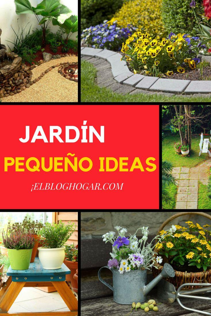 Imagenes de como decorar un jardin peque o como deco for Plantas para estanques pequenos
