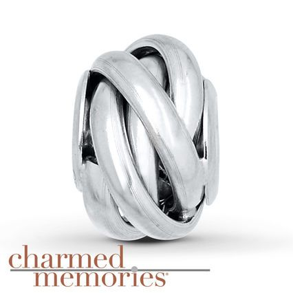 Kay - Charmed Memories Love Knot Charm Sterling Silver