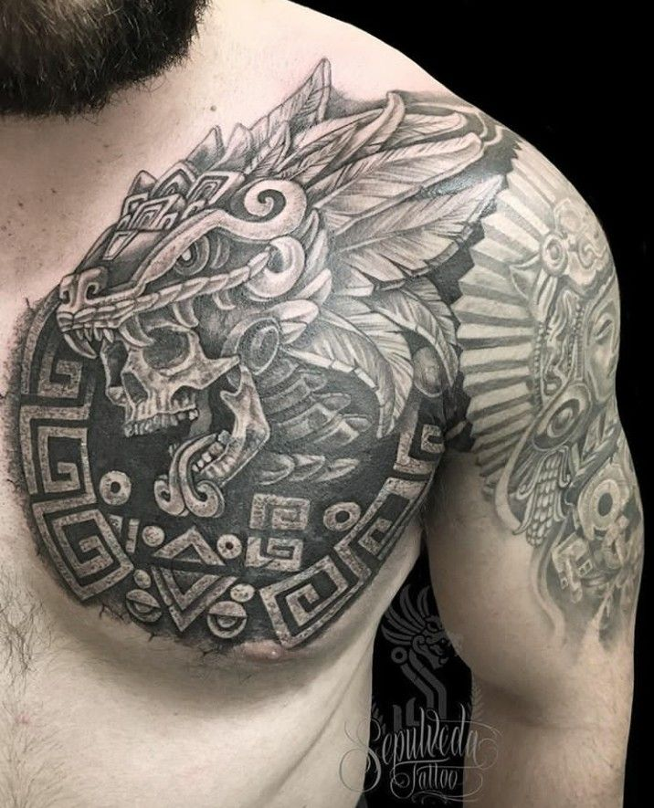 Pin De Jose Lakers En Ink Ideas Tatuaje Quetzalcoatl Tatuaje