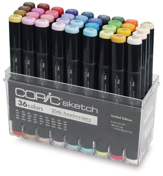 Copic Sketch Anniversary Set of 36, you have to get this one online. Click photo to order.