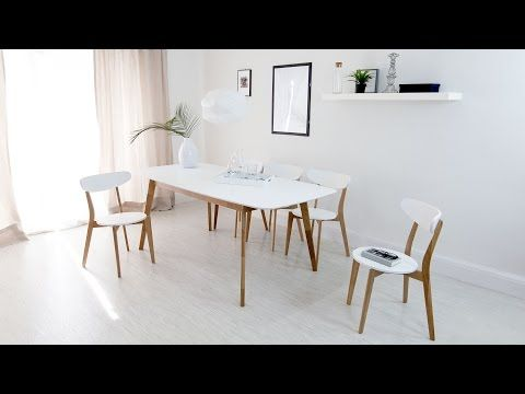 Oak And White Extending Dining Table 8 Seater Uk