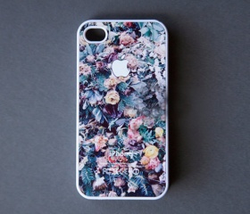 Flower Print iPhone 4 Case