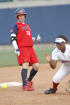 USA Softball Kelly Kretschman