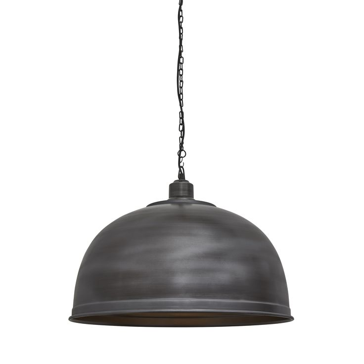 Brooklyn giant dome pendant 23 5 inch pewter vintage industrial lightingrestaurant lightingrestaurant barlight fittingslight fixtureskitchen