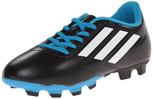 adidas Performance Conquisto FG J Soccer Cleat (Toddler/Little Kid/Big Kid), Black/White/Solar Blue, 1 M US Little Kid adidas http://www.amazon.com/dp/B00LG6CUX2/ref=cm_sw_r_pi_dp_FCedvb1ZRNTHF