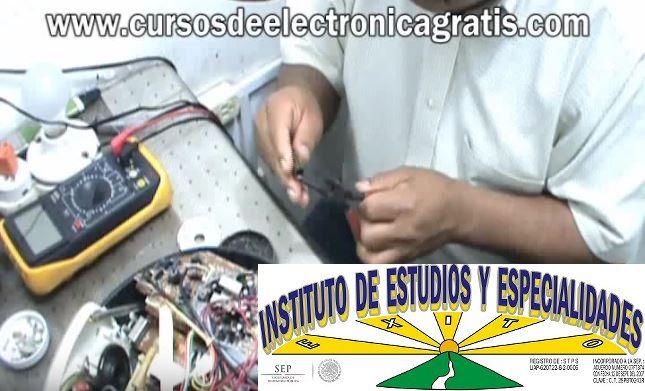 CURSOS DE ELECTRÓNICA GRATIS: REPARACIÓN DE RADIOGRABADORA PARTE 4