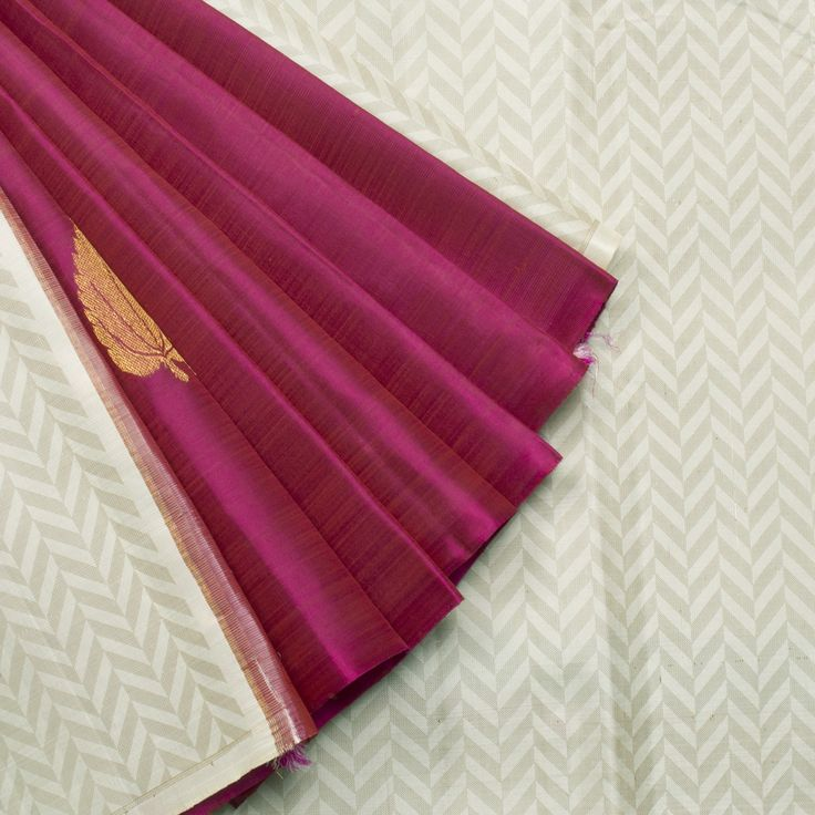 Kanakavalli Handwoven Kanjivaram Silk Sari 001353 - Sari / All Saris - Parisera
