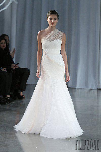 brand online shopping uk Monique Lhuillier Fall winter 2013 2014   Bridal